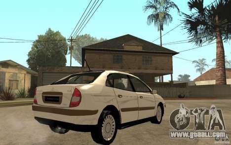 Citroen C5 HDI for GTA San Andreas right view