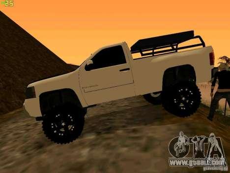 Chevrolet Silverado Final for GTA San Andreas left view