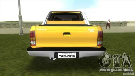 Toyota Hilux SRV 4x4 for GTA Vice City left view