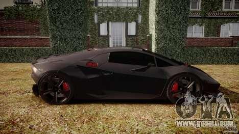 Lamborghini Sesto Elemento 2011 for GTA 4 left view