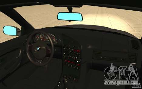 BMW E36 M3 - Stock for GTA San Andreas upper view