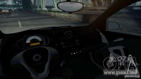 Smart ForTwo 2012 v1.0 for GTA 4 back left view