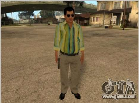 Skins La Cosa Nostra for GTA San Andreas