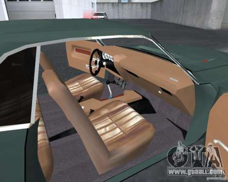 Dodge Challenger V1.0 for GTA San Andreas left view