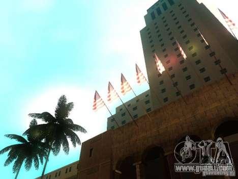 City Hall Los Angeles for GTA San Andreas fifth screenshot