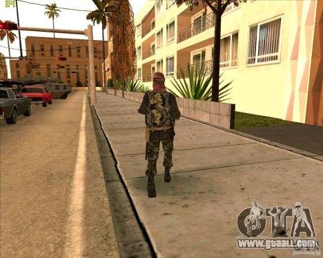 Skin dušmana from COD4 for GTA San Andreas third screenshot