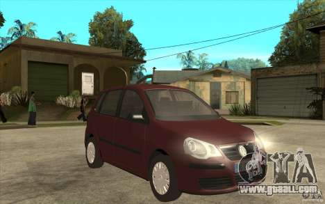 Volkswagen Polo 2006 for GTA San Andreas back view