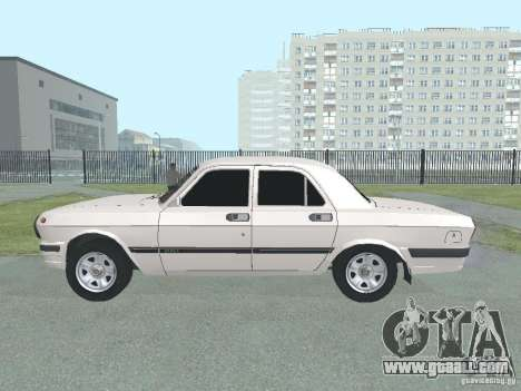 GAZ-24 Volga 105 for GTA San Andreas left view