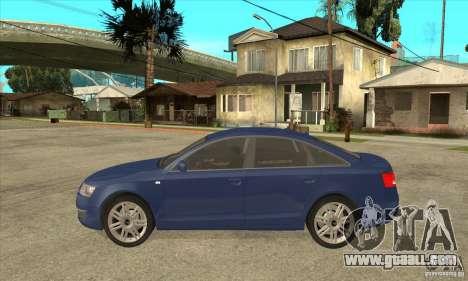 Audi S6 Limousine V1.1 for GTA San Andreas left view