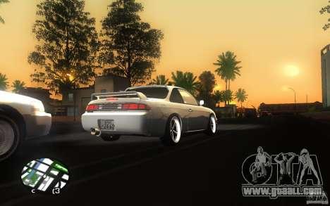 Nissan Silvia S14 for GTA San Andreas back view