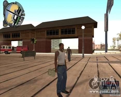 S.T.A.L.K.E.R. Call of Pripyat HUD for SA v1.0 for GTA San Andreas forth screenshot