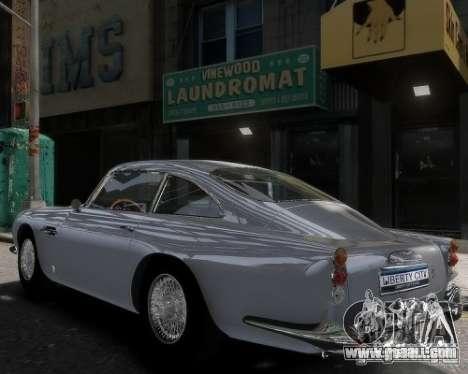 Aston Martin DB5 Vantage BETA for GTA 4 left view