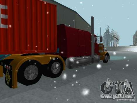 Western Star 4900EX Custom for GTA San Andreas right view