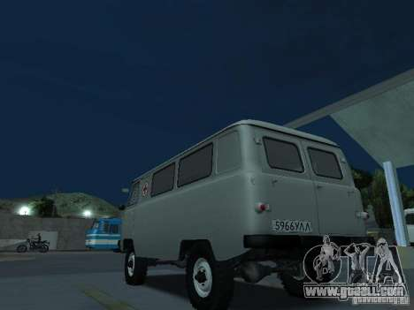 UAZ 451A for GTA San Andreas back left view