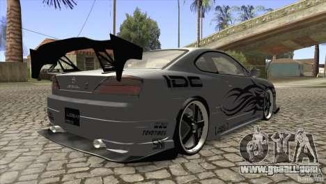 Nissan Silvia S15 Logan for GTA San Andreas right view