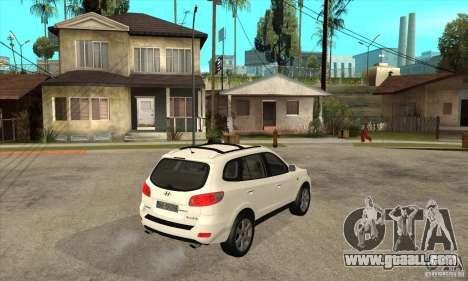 Hyundai Santa Fe for GTA San Andreas right view