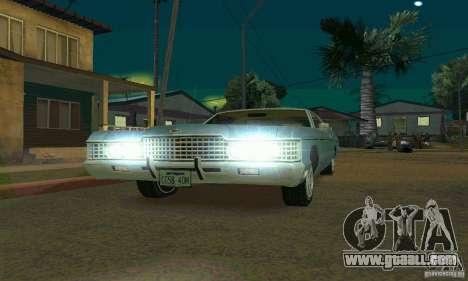 Mercury Monterey 1972 for GTA San Andreas