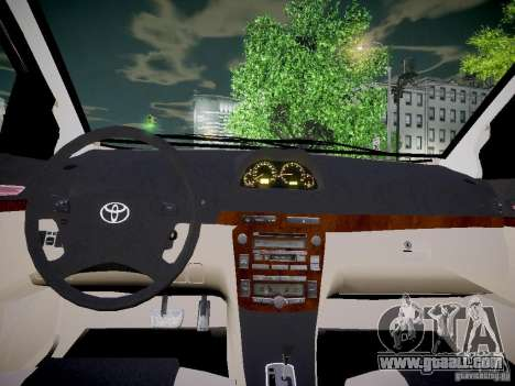 Toyota Vitz for GTA 4 back view