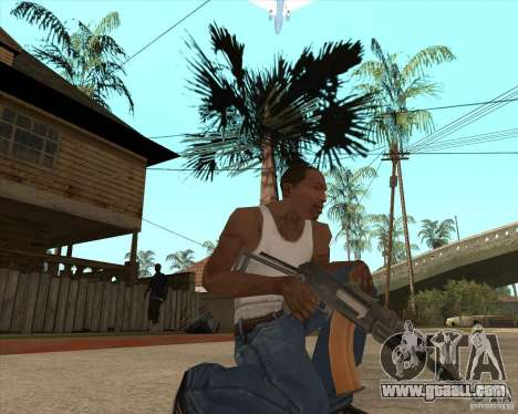 AK74U for GTA San Andreas
