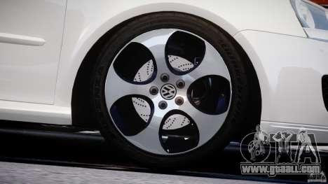 Volkswagen Golf GTI 2006 v1.0 for GTA 4 upper view