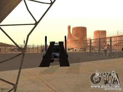 KAMAZ truck for GTA San Andreas left view