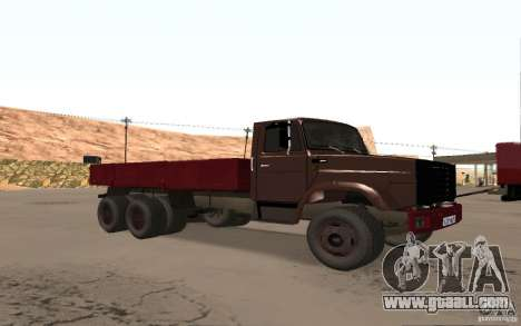 ZIL 6309 for GTA San Andreas left view