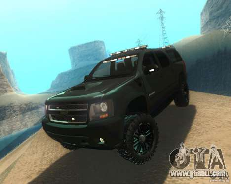 Chevrolet Suburban Crankcase Transformers 3 for GTA San Andreas