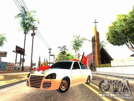 LADA 2170 Wedding for GTA San Andreas