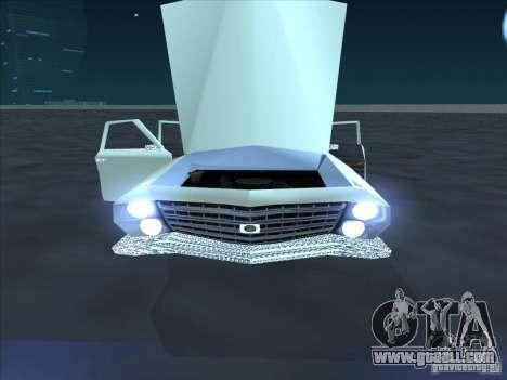 Cadillac Stella for GTA San Andreas back left view