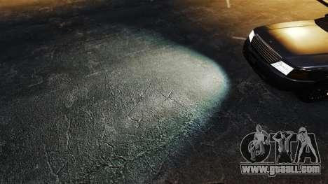 Xenon headlights for GTA 4
