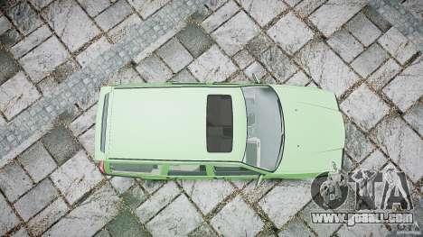 Volvo 850 Turbo 1996 for GTA 4 bottom view