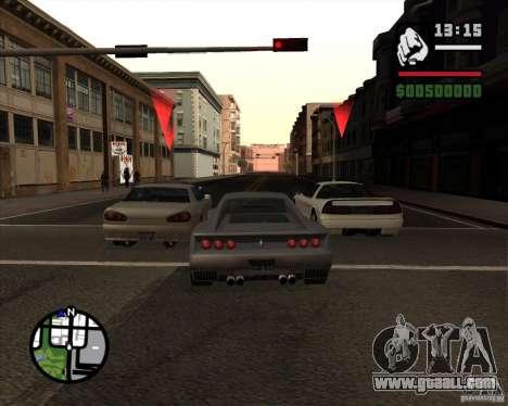 Great Theft Car V1.0 for GTA San Andreas forth screenshot