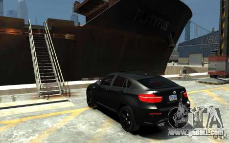 BMW X6 M for GTA 4 back left view