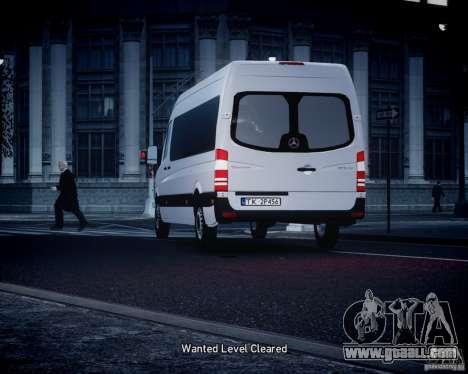 Mercedes-Benz Sprinter Long for GTA 4