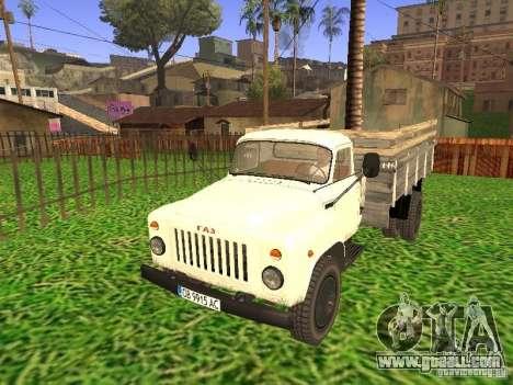 GAZ 53 for GTA San Andreas