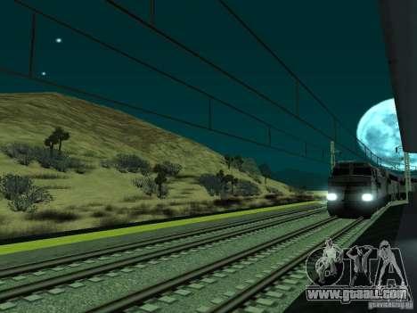 High speed RAILWAY line for GTA San Andreas sixth screenshot