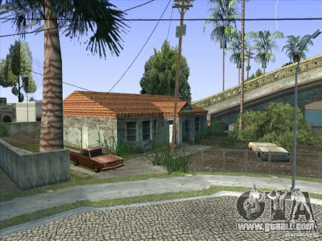Grove Street Retextured for GTA San Andreas