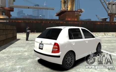 Skoda Fabia for GTA 4 right view