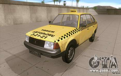 AZLK Moskvich 2141 Taxi v2 for GTA San Andreas