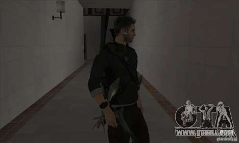 Sam Fisher for GTA San Andreas third screenshot
