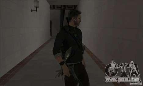 Sam Fisher for GTA San Andreas third screenshot