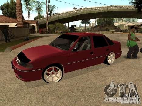 Daewoo Nexia for GTA San Andreas upper view