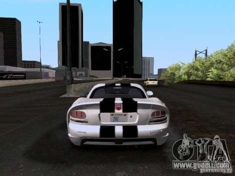 Dodge Viper SRT-10 Custom for GTA San Andreas right view
