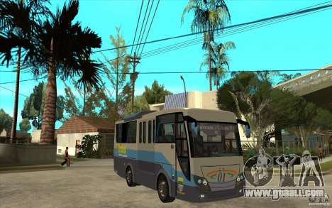 Hino Evo C for GTA San Andreas back view