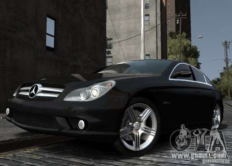 Mercedes-Benz CLS 63 AMG for GTA 4 right view