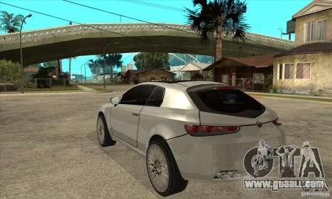Alfa Romeo Brera for GTA San Andreas back left view