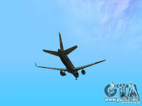 Boeing 757-200 American Airlines for GTA San Andreas side view