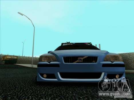 Volvo S60 for GTA San Andreas upper view