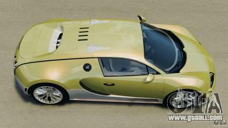 Bugatti Veyron 16.4 Super Sport 2011 v1.0 [EPM] for GTA 4 right view