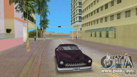 Hermes HD for GTA Vice City back left view